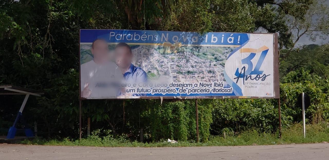 Pré-candidato a prefeito em Nova Ibiá é multado por propaganda antecipada